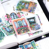 Windows sticker set/ windows Planner Stickers/ Filofax Stickers/Lap top stickers/Scrapbook Sticker