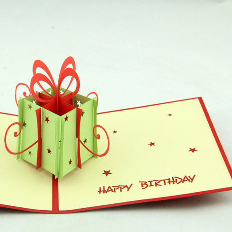 Birthday gift  in Pop up card/handmade card