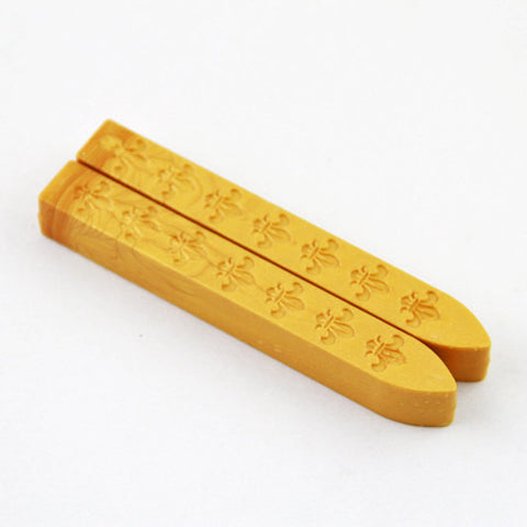 2 pcs Gold Sealing Wax sticks for Wax Seal Stamp