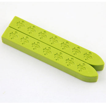 2 pcs Pastel Green Sealing Wax sticks for Wax Seal Stamp
