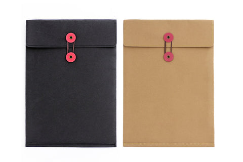 Large Washable Kraft Paper bag / File Folder Bag/ photograph packaging/A4 Kraft envelops