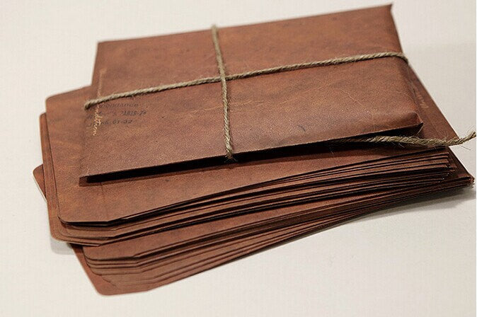 Retro Envelopes // A2 Brown Envelopes // Invitation Envelopes //Wedding Favor Bags/