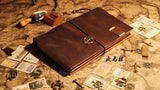 A5 Leather Journal Midori Traveler's Notebook Refillable Leather Notebook gift pack/NB032