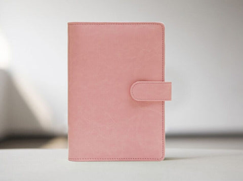 Macaroon Peach Journal Planner Refillable planner/ A5A6 size/NB016