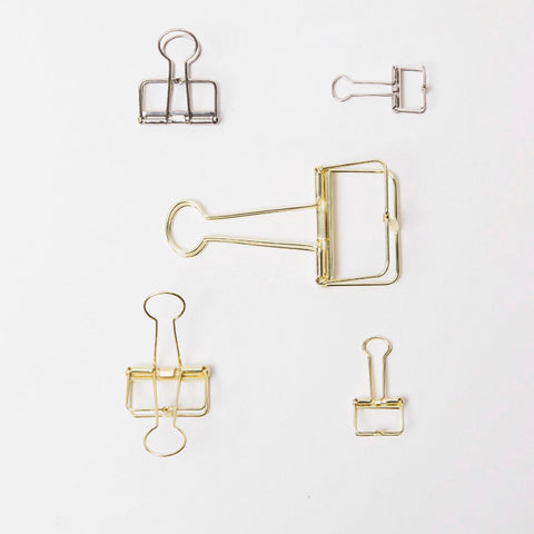 Binder clips Journal Paper Binder Clips/AC012