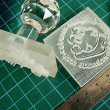 Customize Handmade Acrylic Glass Soap Stamp Seal Cookie Stamp