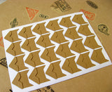 120 Pcs  Corner sticker PA040