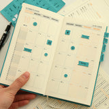 Leather Calender Sticker / Index Tabs/Index Sticker / planner accessories