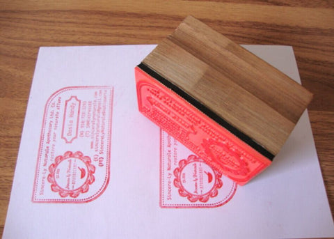 Custom rubber stamp/Personalized Stamp/wedding stamp/ Return Address Stamp