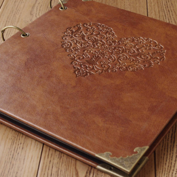Personalized Monogrammed Engraved Photo Album