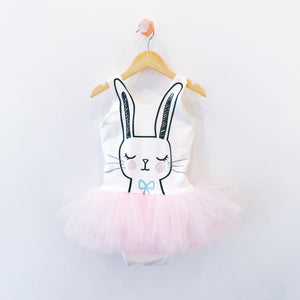 SLEEPY BUNNY TANK TUTU PLAYSUIT (PREORDER)