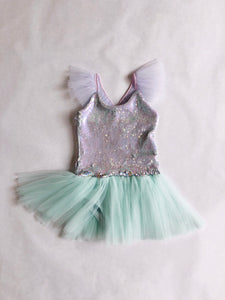 THE LITTLE MERMAID TUTU PLAYSUIT (PREORDER)
