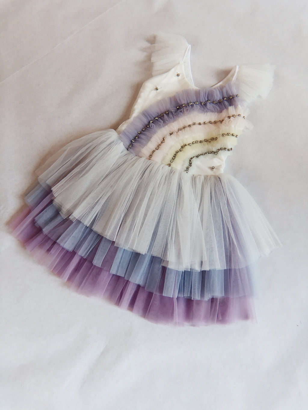 IRIDESCENT RAINBOW TUTU DRESS (PREORDER)