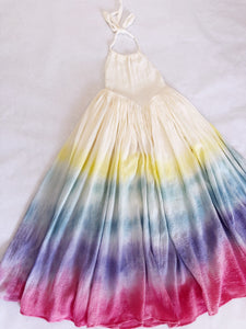 RAINBOW GAUZE MAXI DRESS (PREORDER)