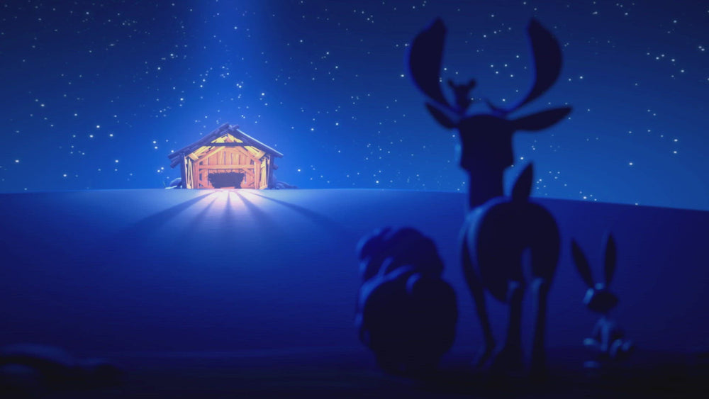 Load and play video in Gallery viewer, DVD: There is a star, Silent Night, & Joy To The World