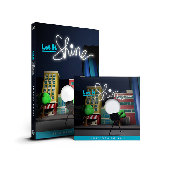 "COMBO: ""Let It Shine""  DVD & CD"