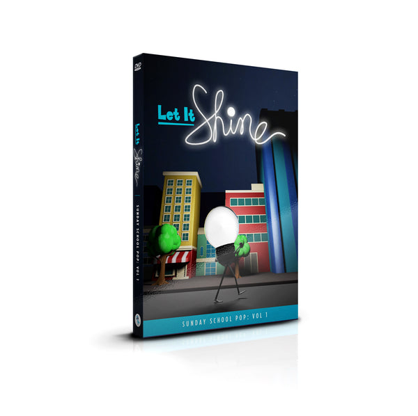 "DVD: ""Let It Shine"" KIDS WORSHIP (6 Music Videos)"