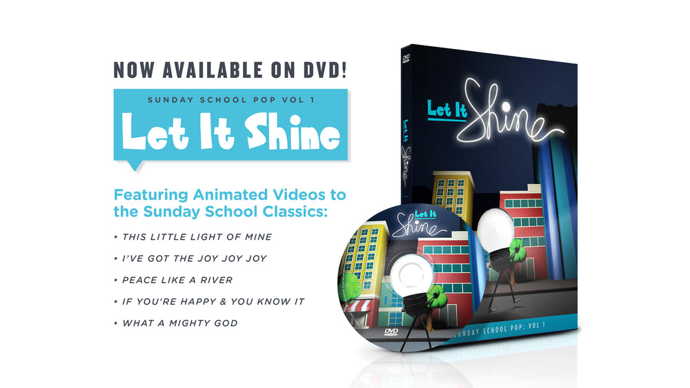 "Load image into Gallery viewer, DVD: ""Let It Shine"" [Vol 1]"