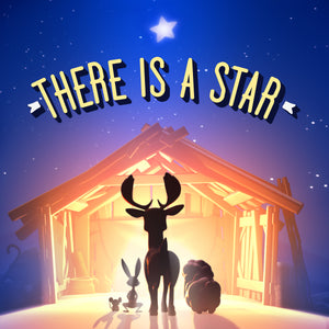 "Load image into Gallery viewer, ""There Is A Star"" Lullaby Christmas CD"
