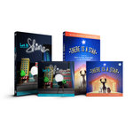 """Let it Shine"" DVD & CD and ""There is a Star"" DVD & CD"