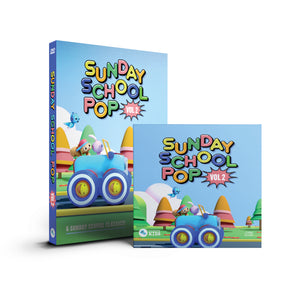 "Load image into Gallery viewer, ""Sunday School POP"" DVD & CD Bundle"