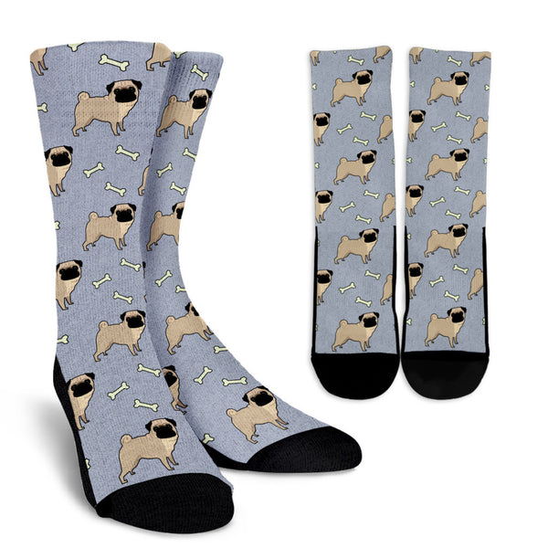 All The Pugs Socks