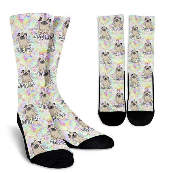 Pugs & Unicorns Socks