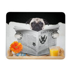 Pugs News Mouse Pad