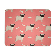 All Over Pugs Mousepad
