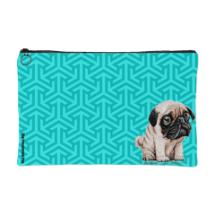 The Cutest Pug Makeup Pouch
