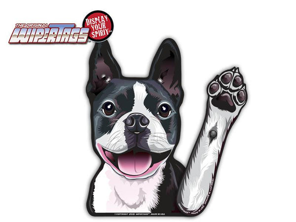 Boston Terrier Dog Wiper