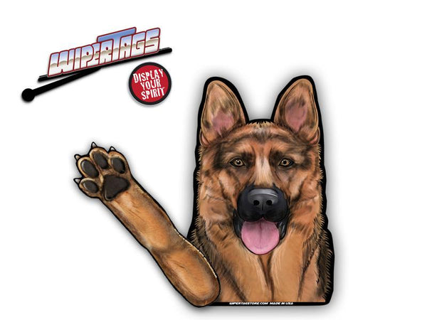 German Shepherd Wiper