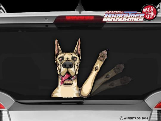 Great Dane Waving Wiper