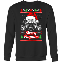 Merry Pugmas Holiday Sweater