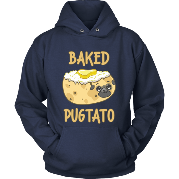 Baked Pugtato Hoodie - the passionate pug - Hoodie / Navy / S - 2