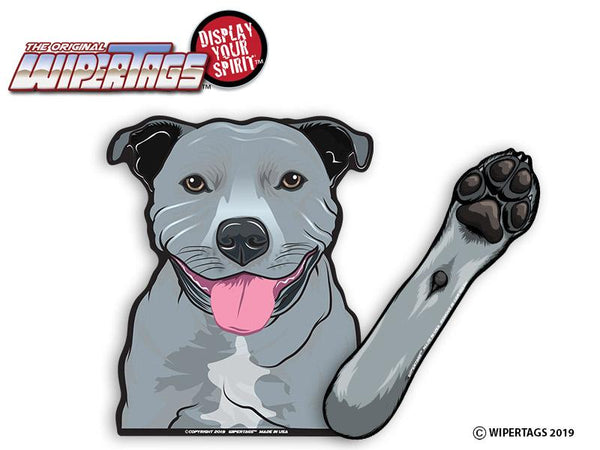 Staffy Waving Wiper