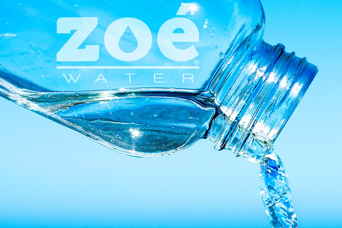 Hydration and water in body composition: Zoé Water USA