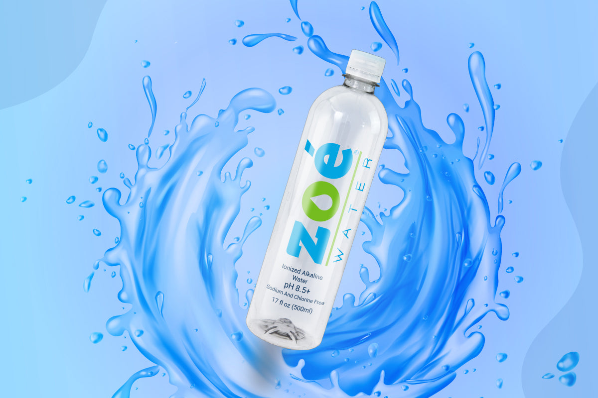 Zoé Classic Alkaline Water: your partner during and after alcohol consumption