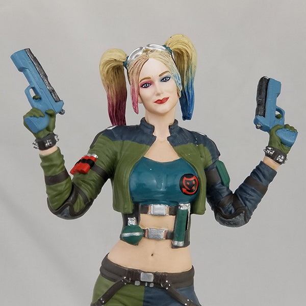 DC Comics Injustice 2 Harley Quinn (Green Jacket) Deluxe Statue - Available 3rd Quarter 2018