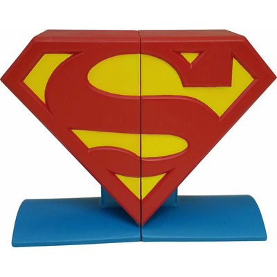 DC Comics Superman Logo Bookends - Icon Heroes