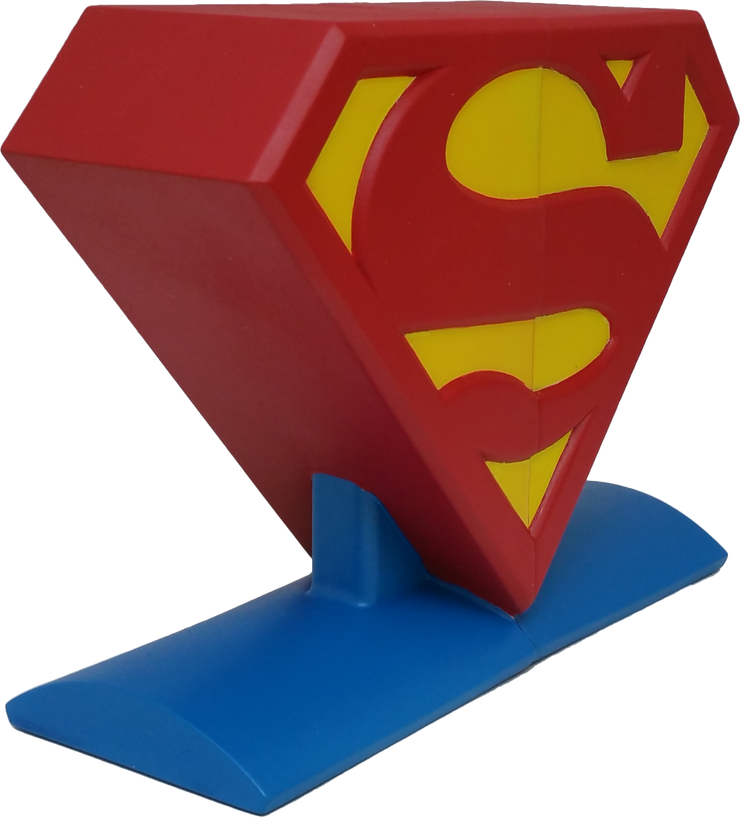 DC Comics Superman Logo Bookends