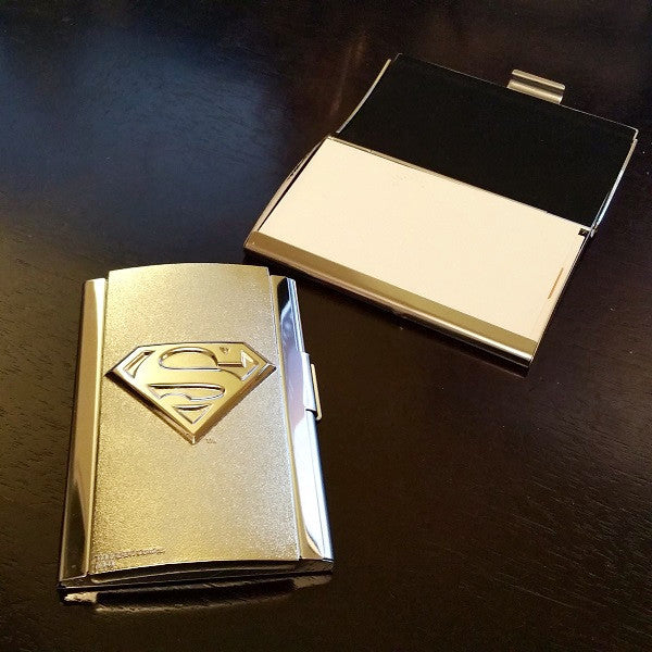 DC Comics Superman Logo Card Case - Icon Heroes