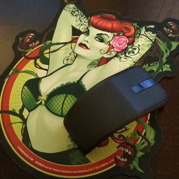 DC Comics Bombshells Poison Ivy Mouse Pad