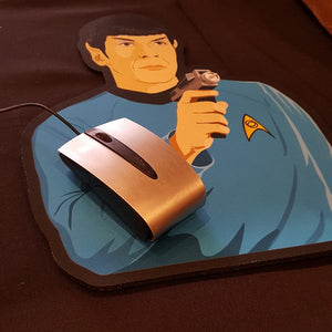 Star Trek Mr. Spock Mouse Pad