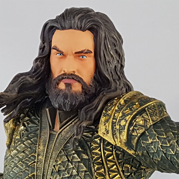 Justice League Movie Aquaman Statue - GameStop Exclusive - Available November 2017