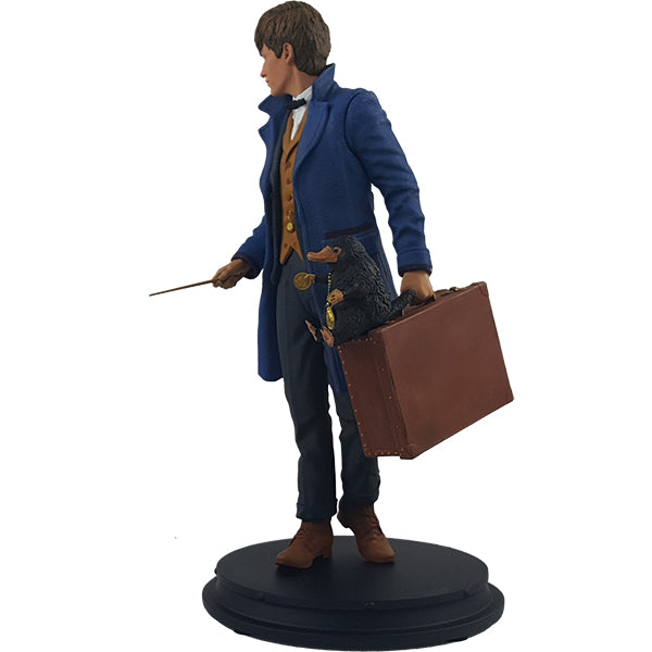 Newt Scamander with Niffler Statue