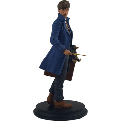 Newt Scamander with Niffler Statue - Icon Heroes