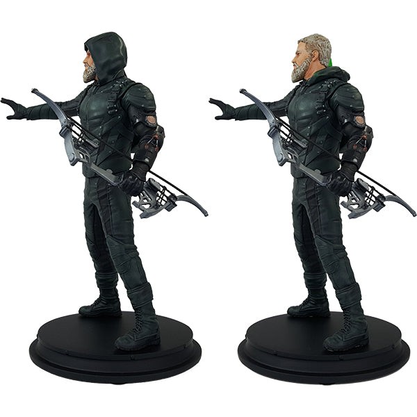 DC Comics Green Arrow Star City 2046 Deluxe Polystone Statue - Exclusive - Icon Heroes