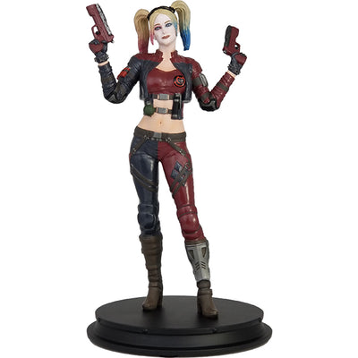 DC Comics Injustice 2 Harley Quinn (Red Jacket) Deluxe Statue - Icon Heroes