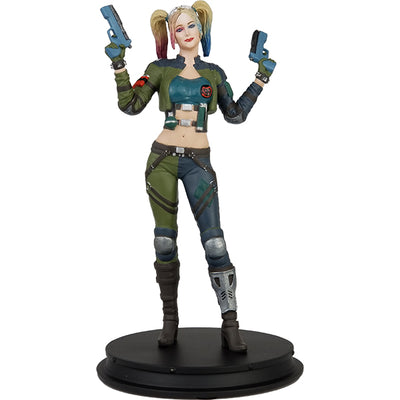 DC Comics Injustice 2 Harley Quinn (Green Jacket) Deluxe Statue - Icon Heroes